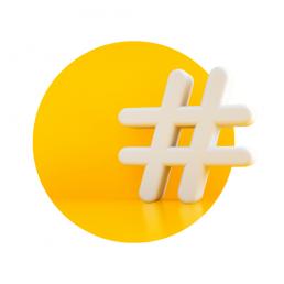 hashtag yellow
